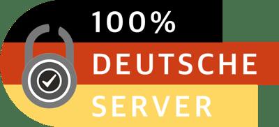 100% Deutsche Server
