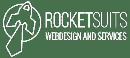 rocketsuits Logo weis